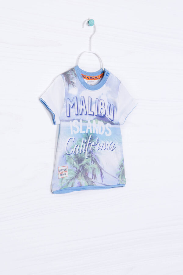 100% cotton T-shirt with print   OVS