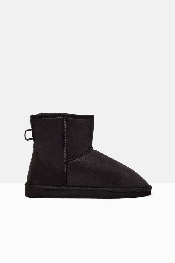 Ankle boots with faux fur inner | OVS