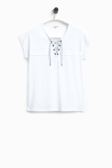 Smart Basic T-shirt with ties