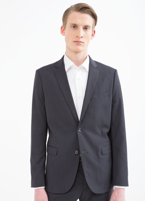 Elegant, slim-fit viscose suit | OVS