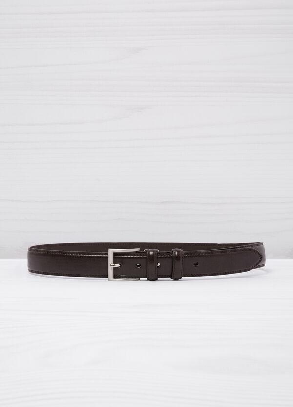 Cintura in similpelle con fibbia lucida | OVS