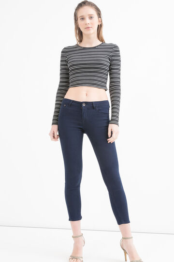 5-pocket, skinny fit jeans, Dark Blue, hi-res