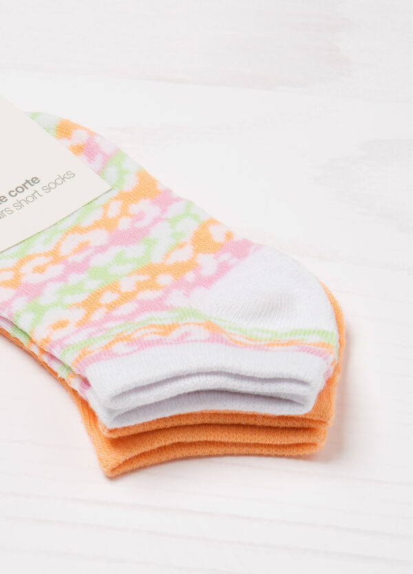 Two-pair pack stretch socks   OVS