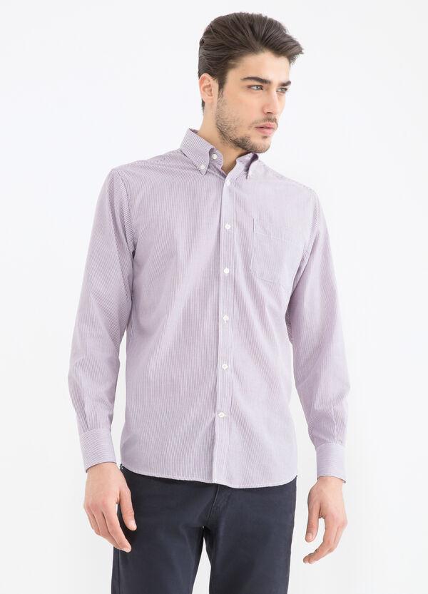 Camicia regular fit cotone a righe | OVS