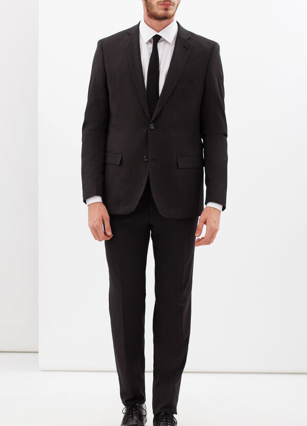 Slim-fit, elegant dotted suit | OVS