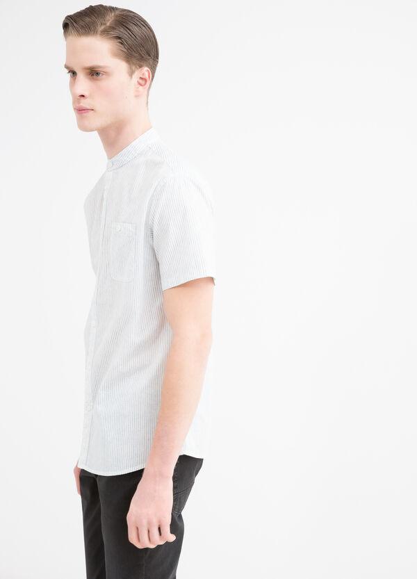 Camicia puro cotone a righe | OVS