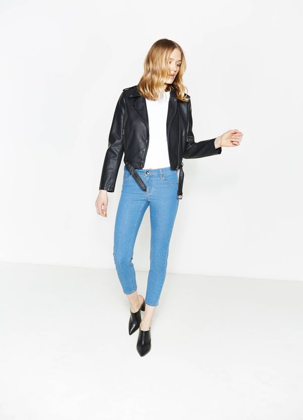 Jeans crop skinny fit stretch | OVS