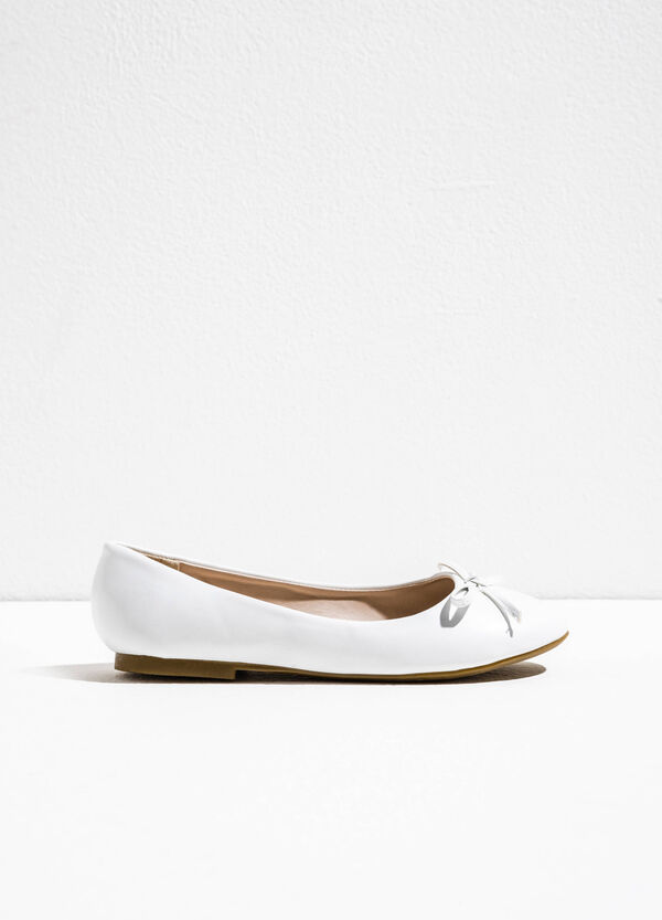 Ballerina flats with bow | OVS