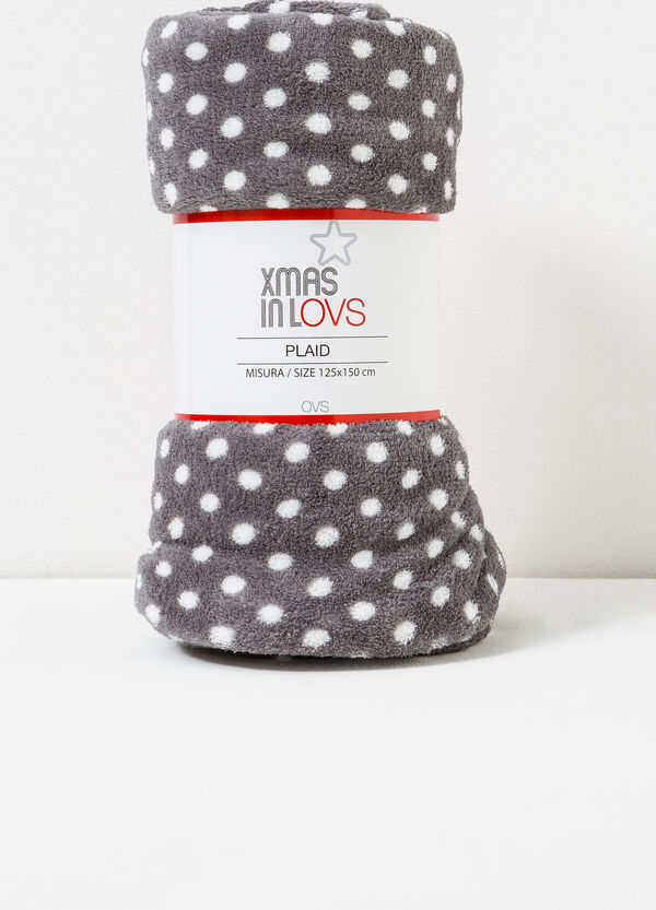 Plaid in pile a pois | OVS