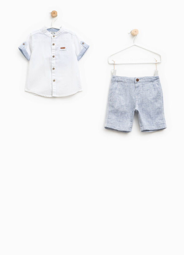 Shirt and Bermuda shorts set | OVS