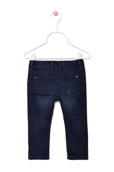 Stretch jeans with exposed seams, Denim, hi-res