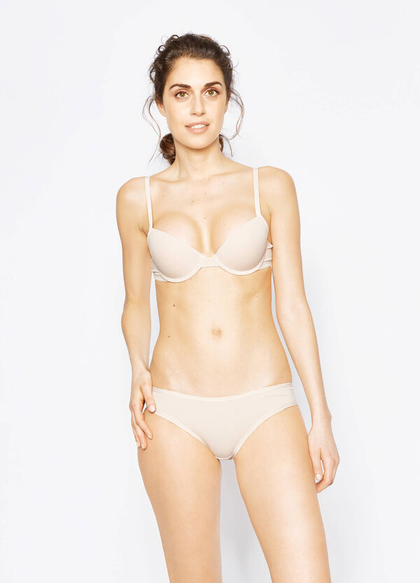 Solid colour bra with underwire | OVS