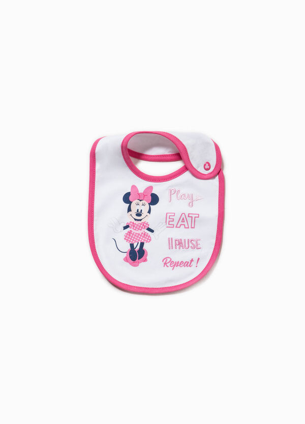 Minnie Mouse print bib | OVS