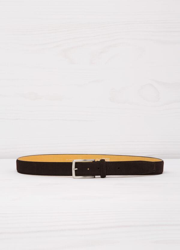 Real suede belt | OVS