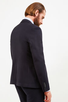 Custom-fit, two-button jacket, Black, hi-res