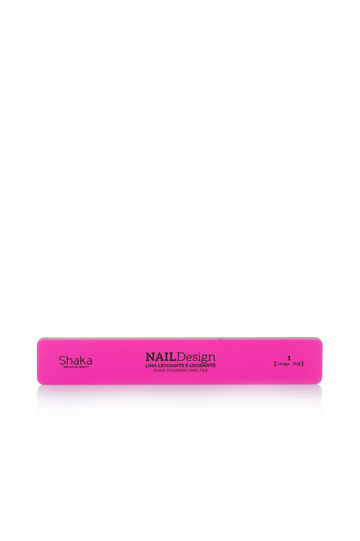 Smoothing and mattifying nail file, White/Pink, hi-res