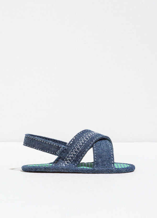 Sandalias con tiras en el empeine | OVS