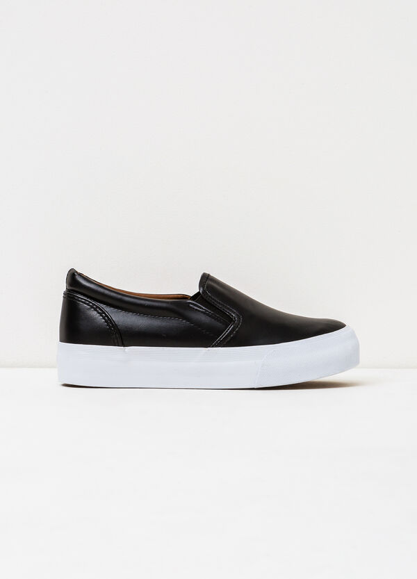 Slip-ons with rubber sole. | OVS