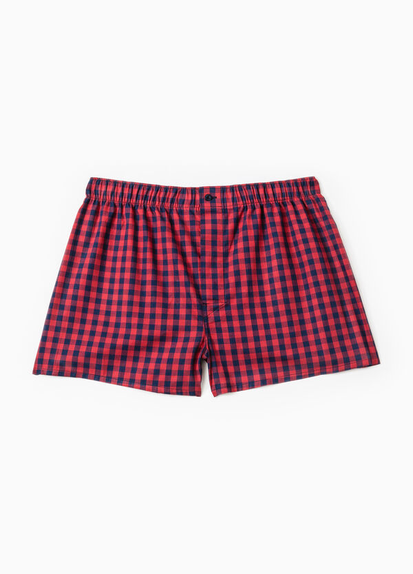 Patterned boxer shorts in 100% cotton | OVS
