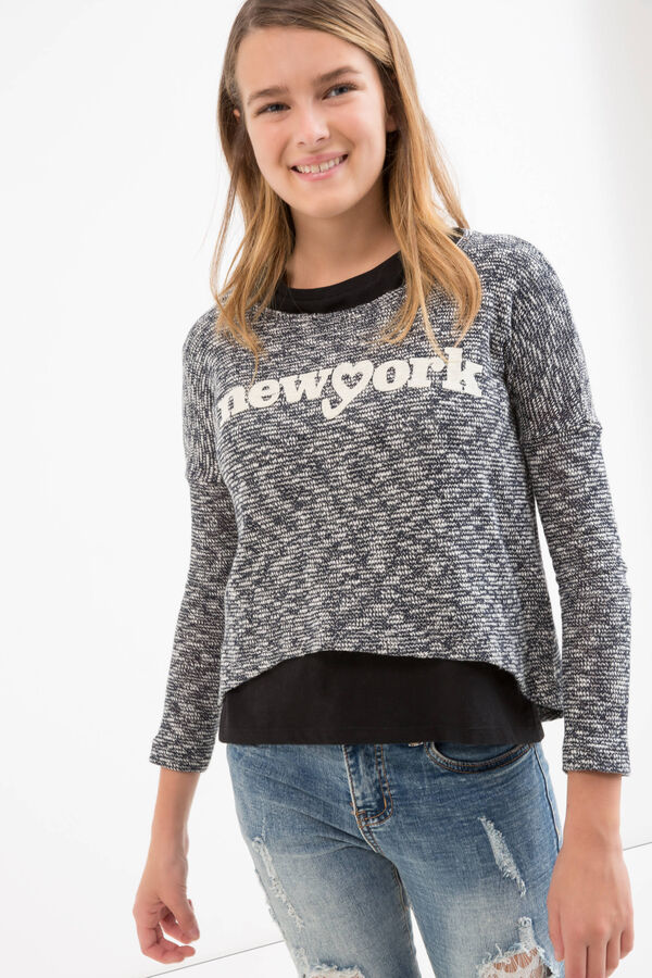 T-shirt con stampa lettering Teen | OVS