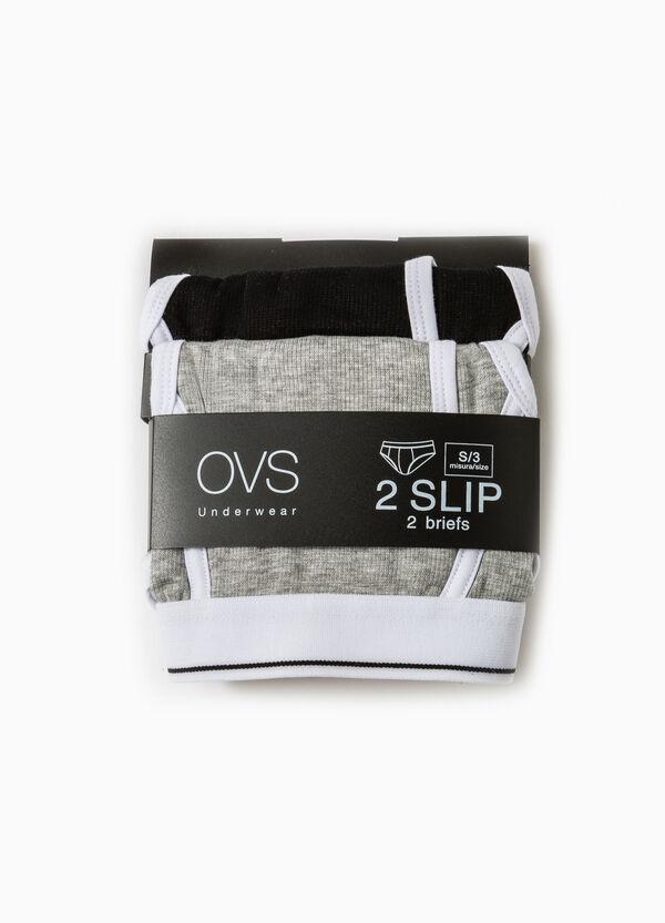 Set due slip modal stretch tinta unita | OVS