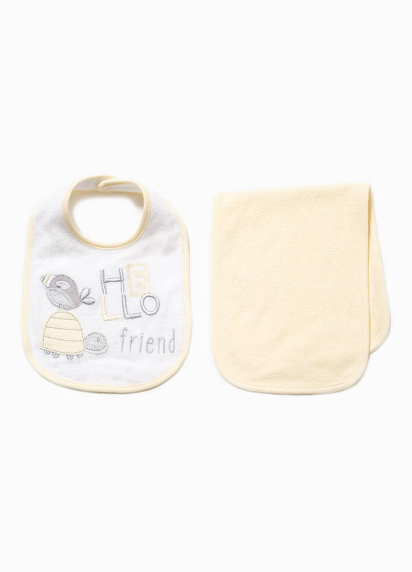 Set bavetta e asciugamano in cotone | OVS
