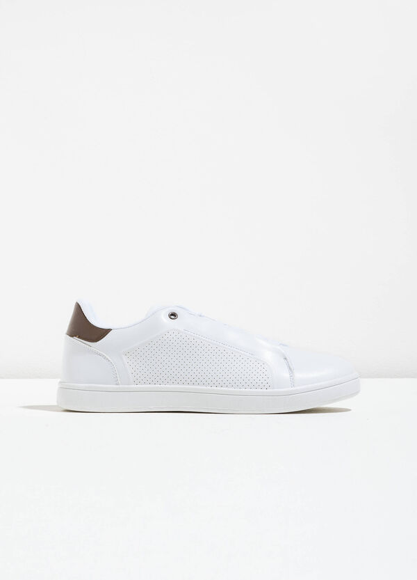 Openwork lace-up sneakers | OVS