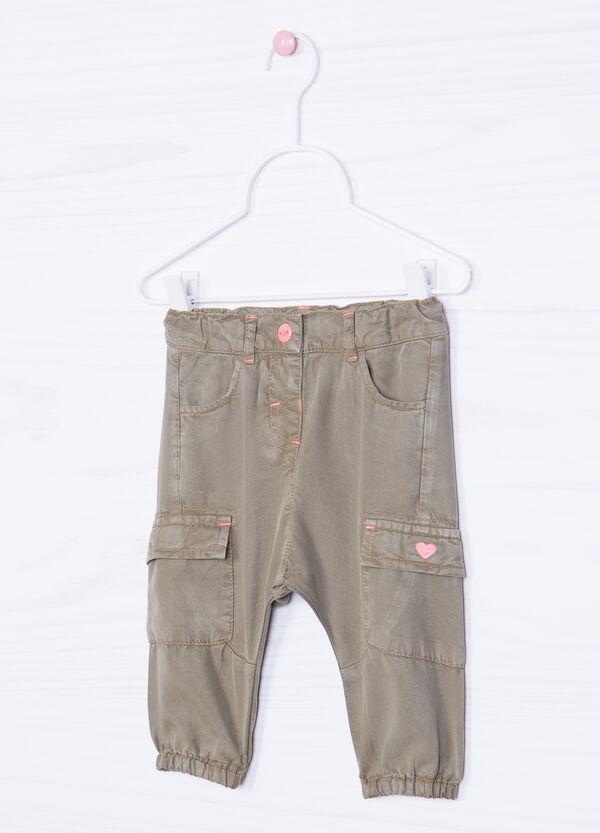 Pantaloni tinta unita con tasconi   OVS