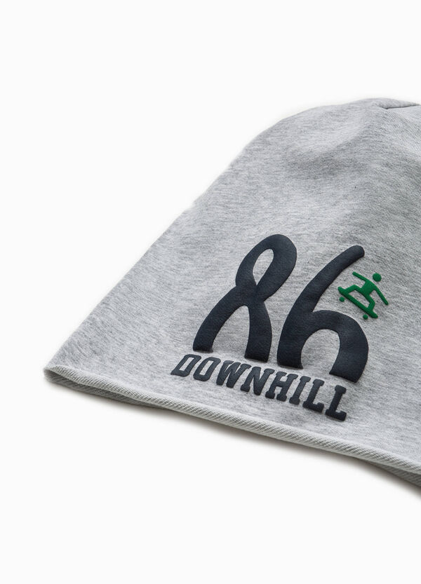 Beanie cap with printed lettering   OVS