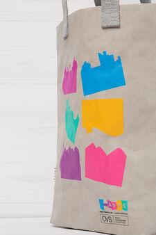Essent'ial shopping bag for Kids Creative Lab, Grey, hi-res