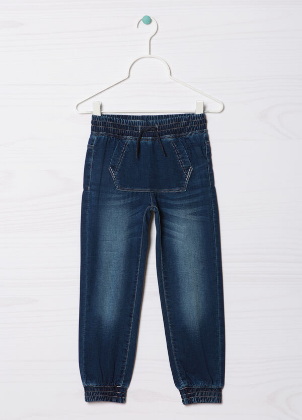 Jeans stretch con coulisse used | OVS