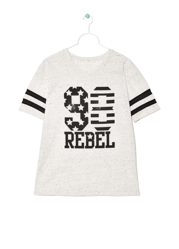 T-shirt with contrasting print | OVS