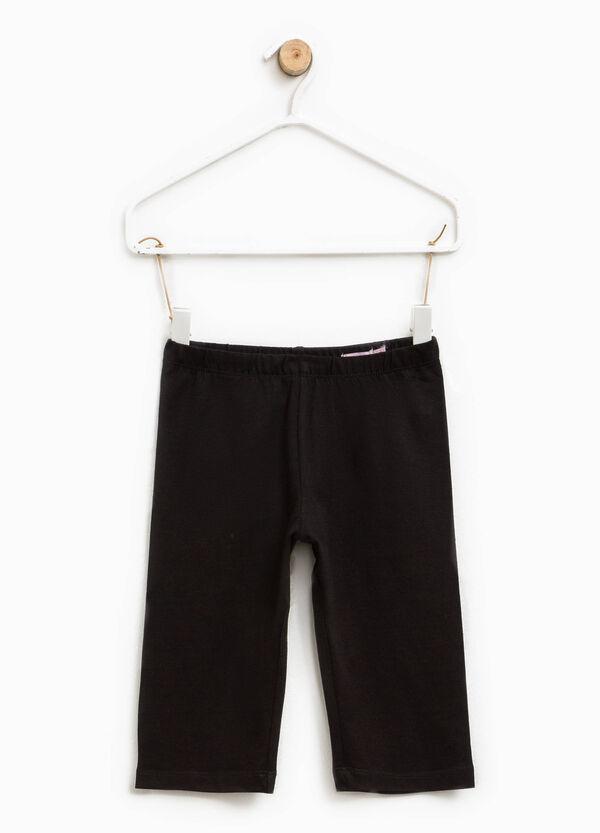Stretch cotton Bermuda shorts | OVS