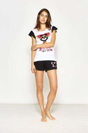 Mickey Mouse print pyjamas