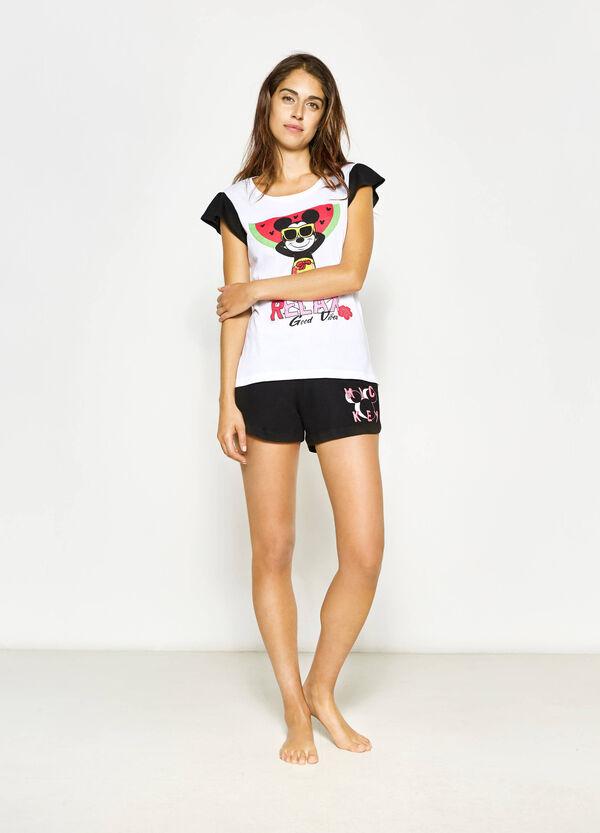 Pijama con estampado de Mickey Mouse | OVS