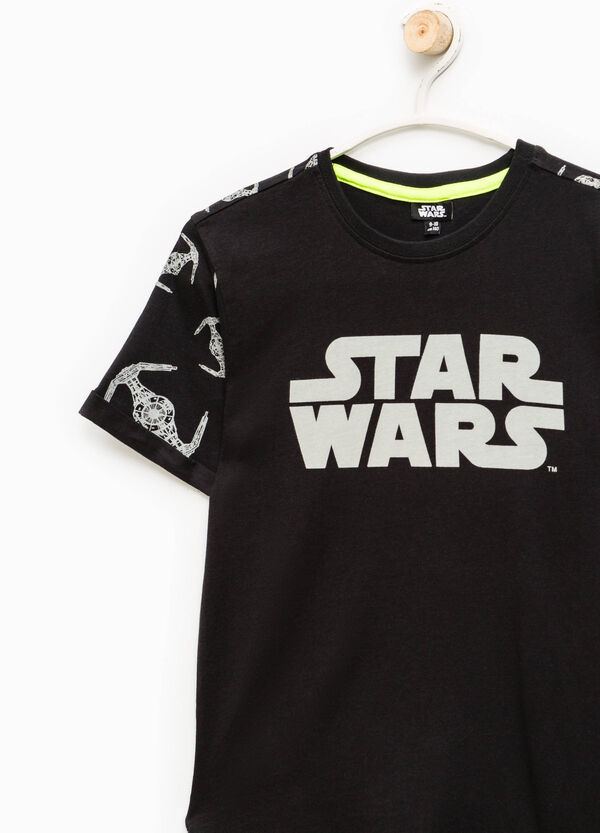 T-shirt with all-over Star Wars print | OVS