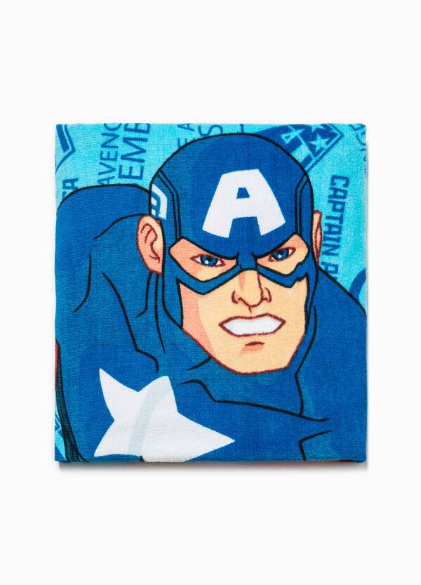 Beach towel with Captain America print | OVS