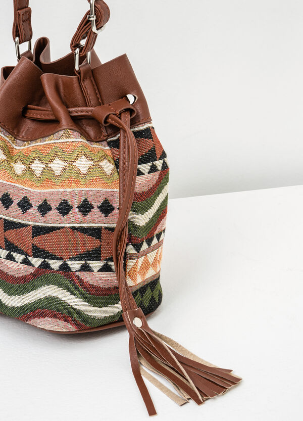 Patterned bucket bag | OVS