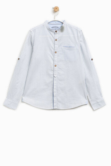 100% cotton striped pattern shirt