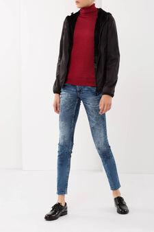 Lined jacket, Black, hi-res