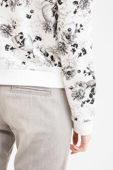 Regular fit jogging jeans, Ash Grey, hi-res