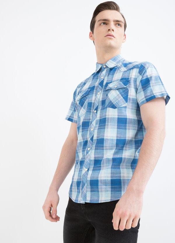 G&H tartan shirt in cotton | OVS