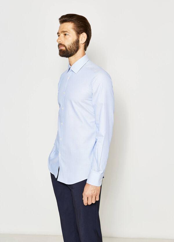 Camisa formal slim fit con trama en relieve | OVS