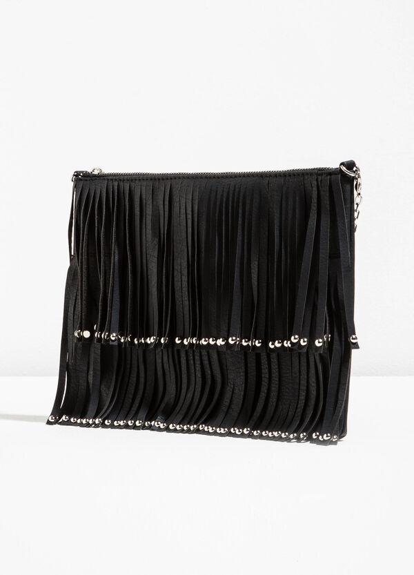 Shoulder bag with studs and fringes | OVS