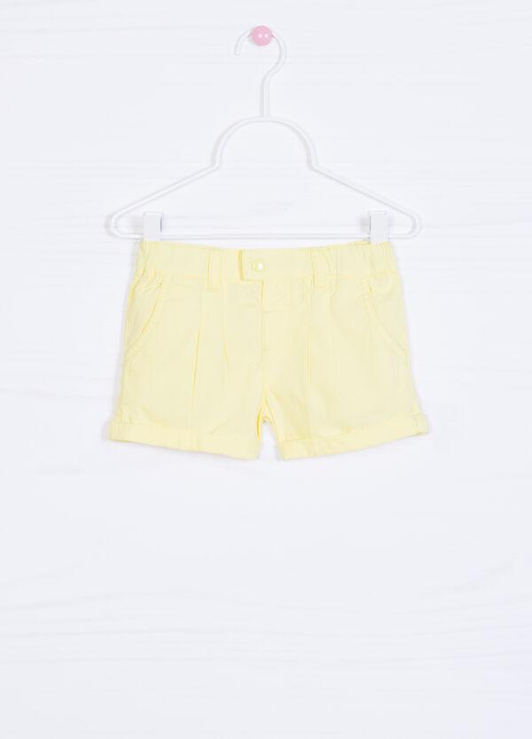 Shorts puro cotone plissettatura | OVS