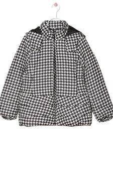 Hooded heavy jacket, Ice White, hi-res