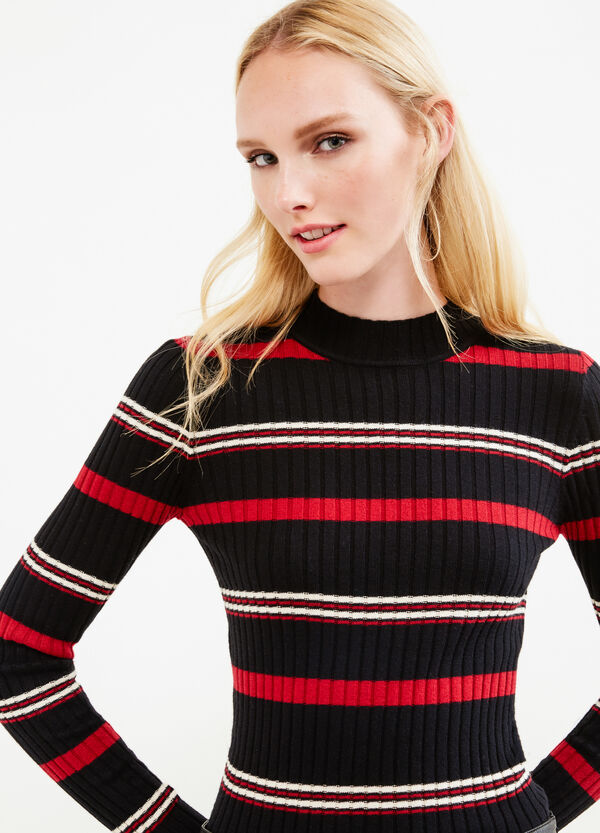 Striped ribbed pullover | OVS
