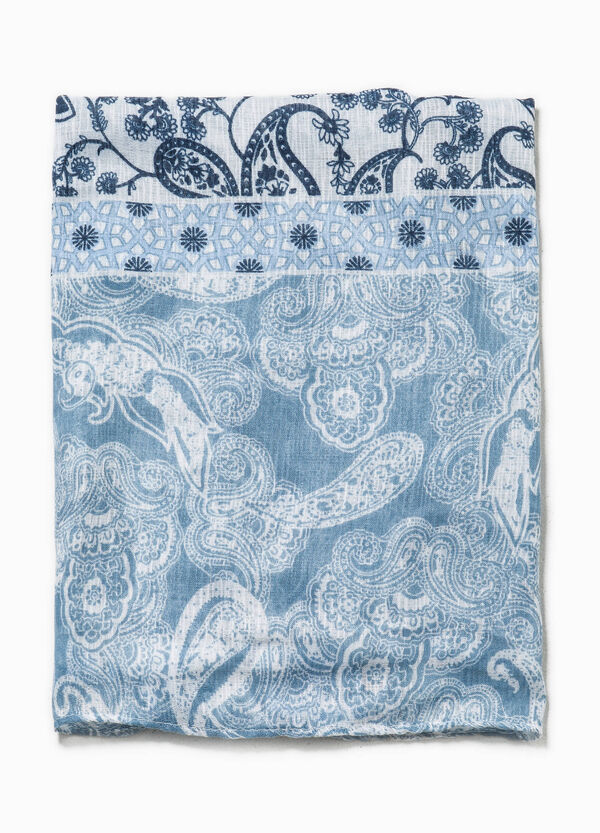 Paisley and floral patterned scarf | OVS