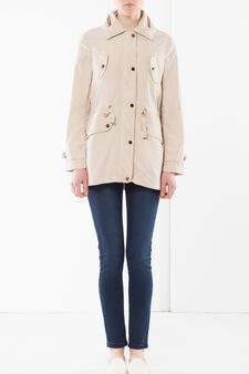 Lightweight jacket with four pockets, Beige, hi-res