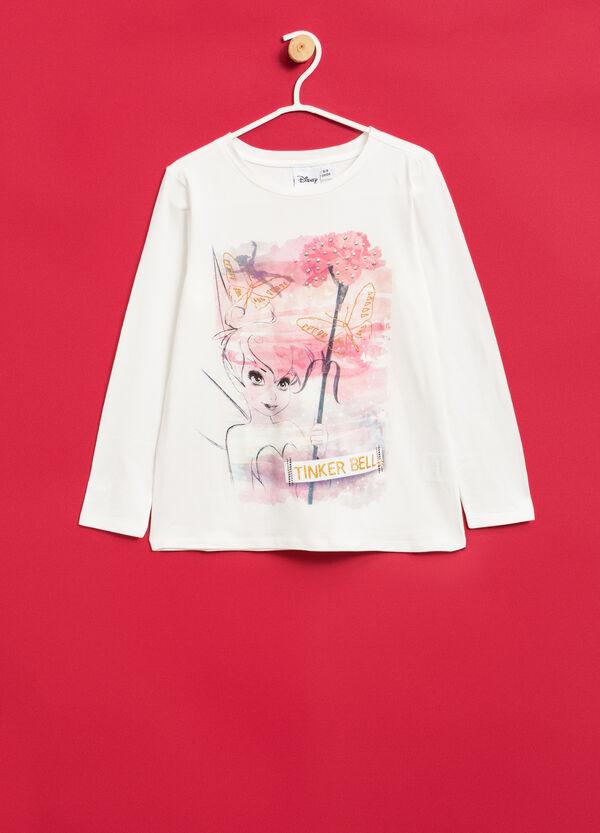 T-shirt stretch stampa Campanellino | OVS